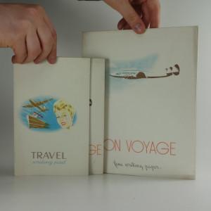 náhled knihy - Tři stylové retro bločky. BON VOYAGE