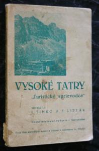 náhled knihy - Vysoké Tatry, turistický sprievodca