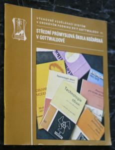 náhled knihy - Střední průmyslová škola kožařská v Gottwaldově