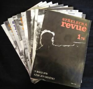 náhled knihy - Střelecká revue 1.-12., 1978