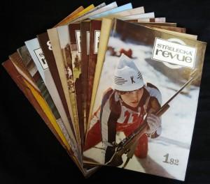 náhled knihy - Střelecká revue 1.-12., 1982