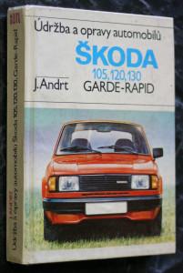 náhled knihy - Údržba a opravy automobilů Škoda 105, 120, 130, Garde, Rapid