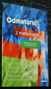 náhled knihy - Odmaturuj! z matematiky 2 : základy diferenciálního a integrálního počtu