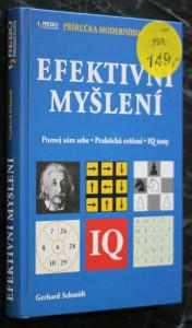 náhled knihy - Efektivní myšlení : poznej sám sebe : praktická cvičení, IQ testy