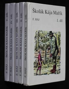 náhled knihy - Školák Kája Mařík: 1.-5. díl