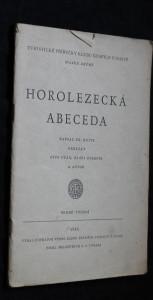 náhled knihy - Horolezecká abeceda