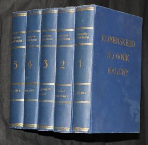 náhled knihy - Komenského slovník naučný 1-10