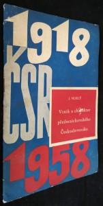 náhled knihy - Vznik a charakter předmnichovského Československa