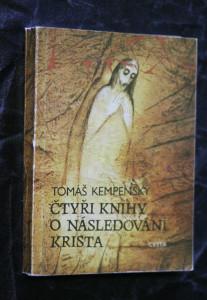 náhled knihy - Čtyři knihy o následování Krista : zlatá kniha