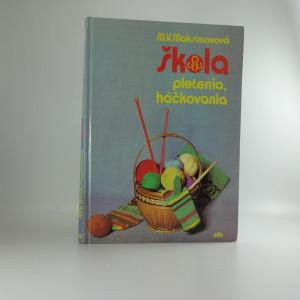 náhled knihy - Škola pletenia, háčkovania