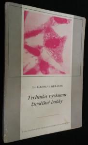 náhled knihy - Technika výzkumu živočišné buňky