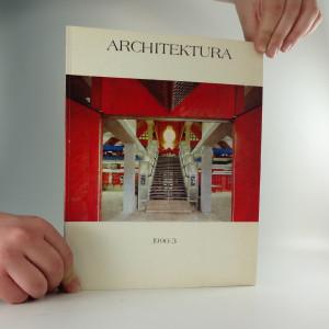 náhled knihy - Architektura, ročník XLIX., číslo 3/1990