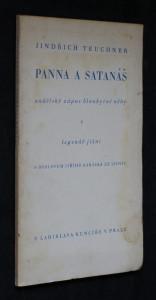 náhled knihy - Panna a satanáš : andělský zápas blankytné něhy v legendě jižní