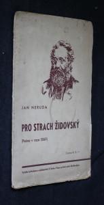 náhled knihy - Pro strach židovský : (psáno v roce 1869)