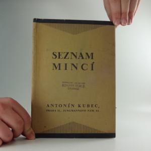 náhled knihy - Seznam mincí, které nabízí Antonín Kubec, obchod starožitnostmi a mincemi