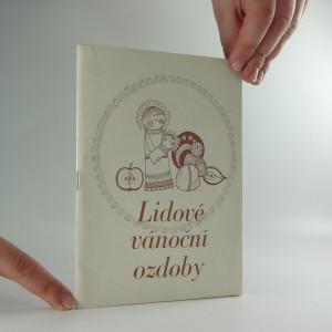 náhled knihy - Lidové vánoční ozdoby