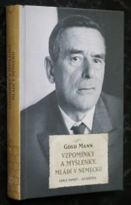 náhled knihy - Vzpomínky a myšlenky : mládí v Německu