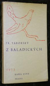 náhled knihy - Z baladických