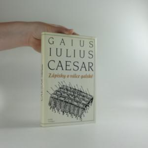 náhled knihy - Zápisky o válce Galské