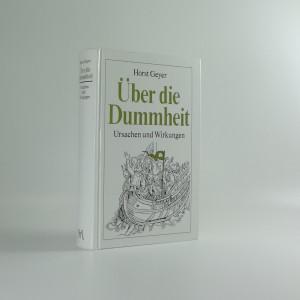 náhled knihy - Über die Dummheit
