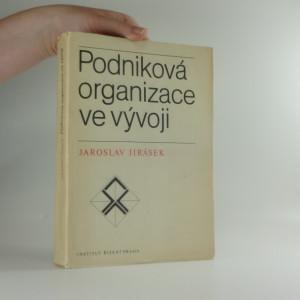 náhled knihy - Podniková organizace ve vývoji