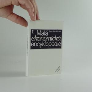 náhled knihy - Malá ekonomická encyklopedie