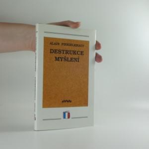 náhled knihy - Destrukce myšlení : esej