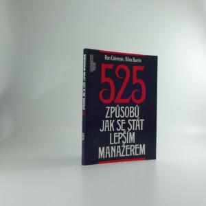 náhled knihy - 525 způsobů jak se stát lepším manažerem