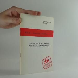 náhled knihy - Poznatky ze západního podnikání a managementu. 1