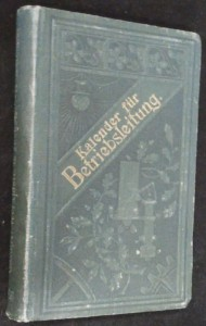 náhled knihy - Kalender für Betriebsleitung