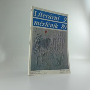 náhled knihy - Literární měsíčník(9 číslo, ročník 1989)