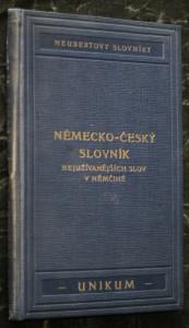 náhled knihy - Německo-český a česko-německý slovník nejužívanějších slov v němčině