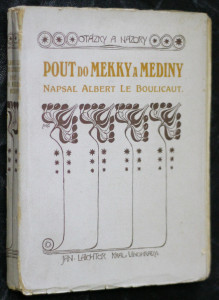 náhled knihy - Pout do Mekky a Mediny