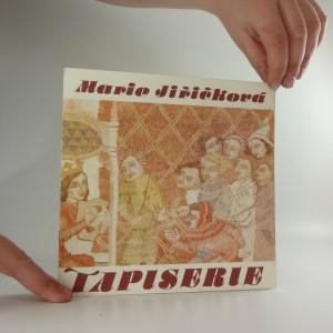náhled knihy - Marie Jiřičková - Tapiserie (katalog výstavy)