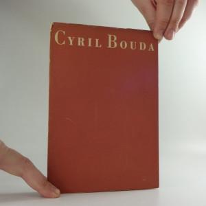 náhled knihy - Obrazy a akvarely Cyrila Boudy : katalog výstavy