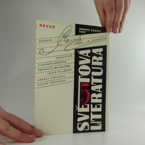 náhled knihy - Revue světová literatura, ročník XXXVII, 5/1992
