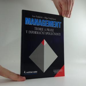 náhled knihy - Management : teorie a praxe v informační společnosti