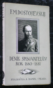 náhled knihy - Deník spisovatelův rok 1880-1881