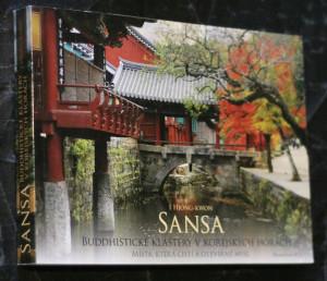 náhled knihy - Sansa : buddhistické kláštery v korejských horách : místa, která čistí a otevírají mysl