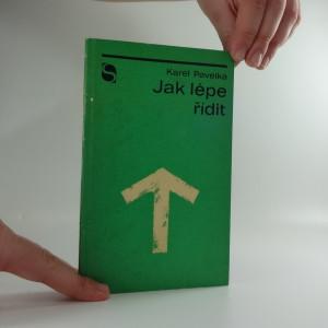 náhled knihy - Jak lépe řídit : zásady, pravidla a některé nové směry řízení