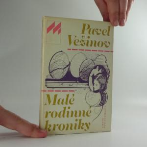 náhled knihy - Malé rodinné kroniky