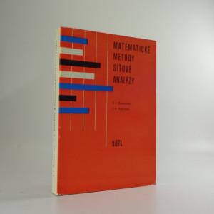 náhled knihy - Matematické metody síťové analýzy
