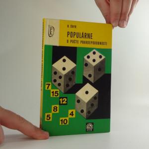 náhled knihy - Populárne o počte pravdepodobnosti