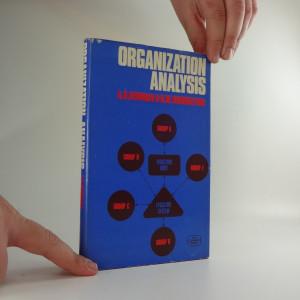 náhled knihy - Organization analysis
