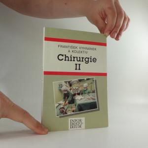 náhled knihy - Chirurgie II. pro střední zdravotnické školy
