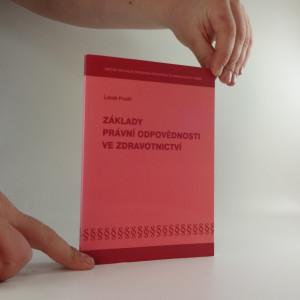 náhled knihy - Základy právní odpovědnosti ve zdravotnictví