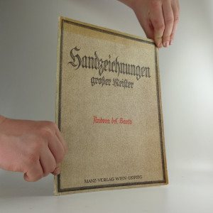 náhled knihy - Handzeichnungen gorsser Meister : Del Sarto