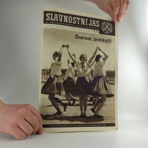 náhled knihy - Slavnostní jas X. všesokolského sletu v Praze 1938