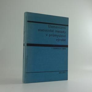 náhled knihy - Elementární statistické metody v průmyslové výrobě