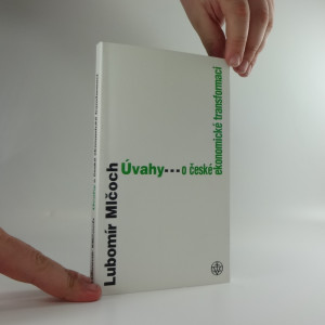 náhled knihy - Úvahy o české ekonomické transformaci
